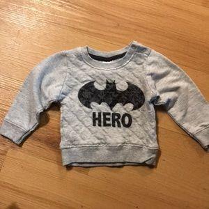 Other - Baby boy Batman sweatshirt 3-6 months